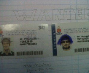 Francois & Gerrie - 'WANTED - Mass Murderers'