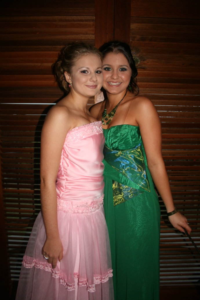 Before our matric dance...taking photos together. We had done most of our prepping together