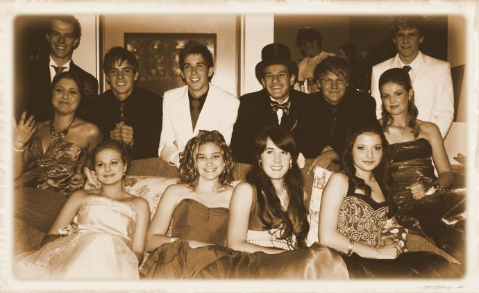 Our pre-matric dance photo