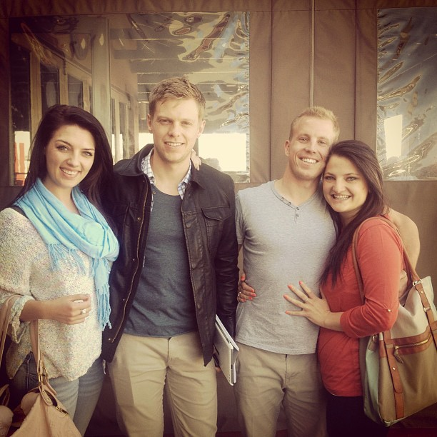 Eline, Cornu, Freddie and Ashley in Cape Town