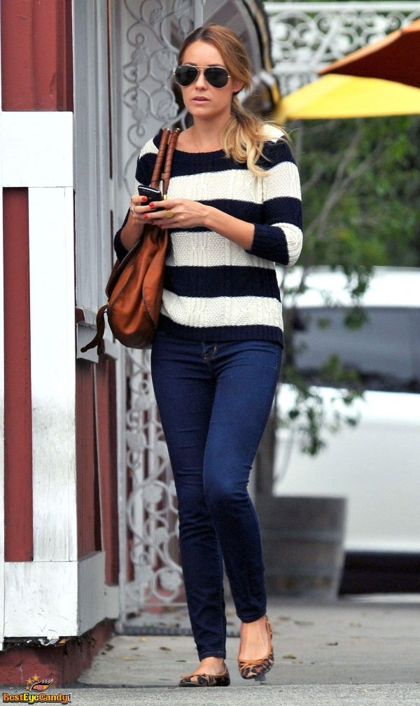 Lauren Conrad out and about