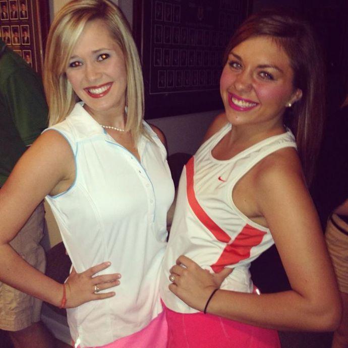 My friend - Sarah Beth Flippo (on the right)